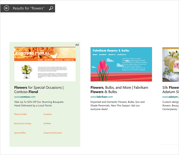 Microsoft Advertising In Bing Smart Search