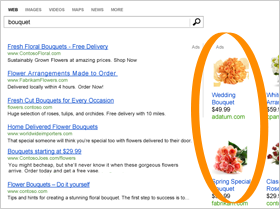 An example of a product ad.