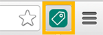 UET Tag Helper icon in Chrome bar