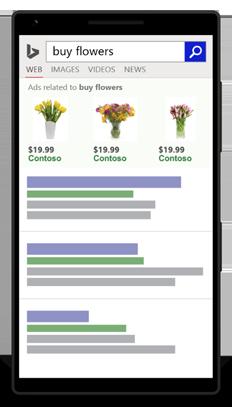 Exemplo de anúncio para celular